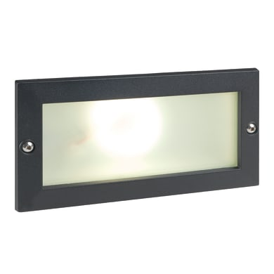 Faretto da incasso da esterno rettangolare Escape LED integrato 10W 700LM 1 x IP65