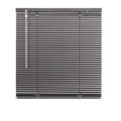 Tenda veneziana verticale New York in alluminio, antracite, 40x130 cm