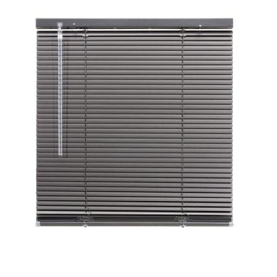Tenda veneziana verticale New York in alluminio, antracite, 60x130 cm