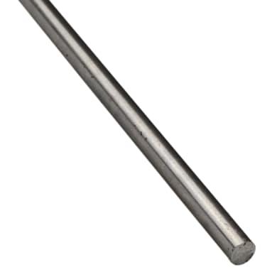 Profilo tondi pieni STANDERS in ferro 2 m x 1 cm Ø 10 mm grigio