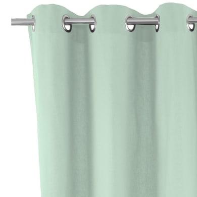 Tenda INSPIRE Sunny laguna verde oscurro bush green occhielli 140 x 280 cm