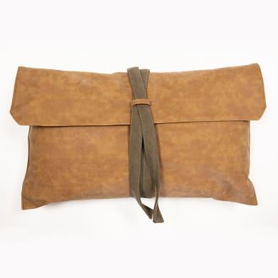 Cuscino Borsa marrone 30x50 cm
