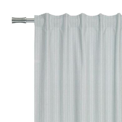 Tenda INSPIRE Amelie verde nastro tenda con anse nascoste 140.0 x 280.0 cm
