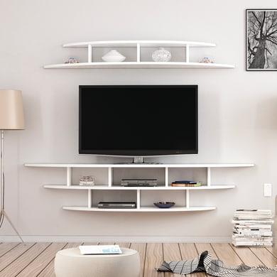 Mobile per TV Alvino L 176 x H 35 x P 35 cm