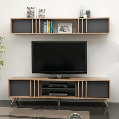 Mobile per TV Bren L 180 x H 30 x P 35 cm