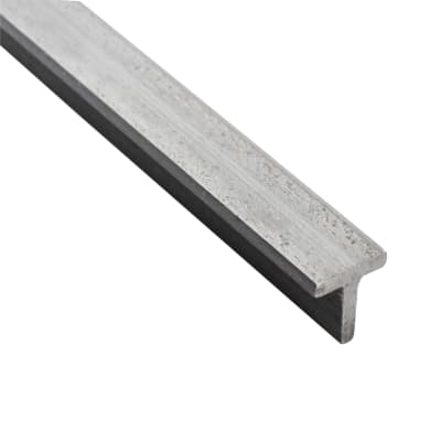 Profilo t STANDERS in ferro 1 m x 2 cm
