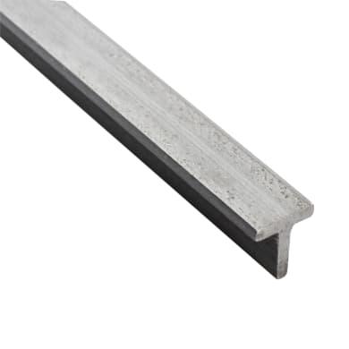 Profilo t STANDERS in ferro 1 m x 3 cm grigio