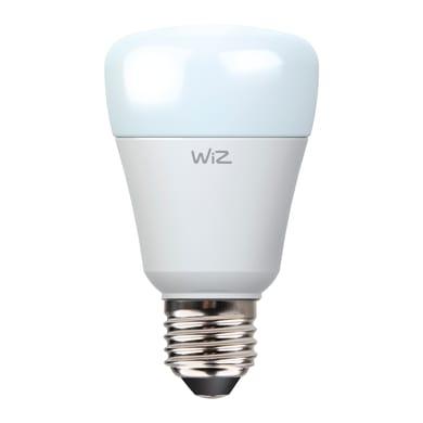 Lampadina LED E27, Goccia, Opaco, Bianco, Luce calda, 11.5W=800LM (equiv 60 W), 150° , WIZ