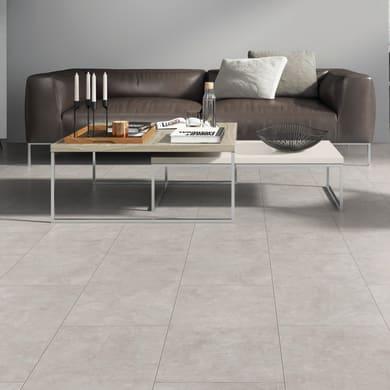 Pavimento spc flottante clic+ Pietra Nova Salto Sp 4.5 mm bianco