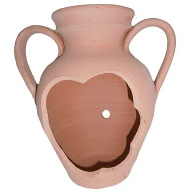 Vaso Tagliata in terracotta colore cotto H 20 cm, Ø 20 cm