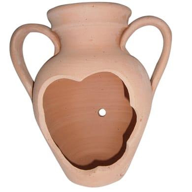 Vaso Tagliata in terracotta colore cotto H 25 cm, Ø 25 cm