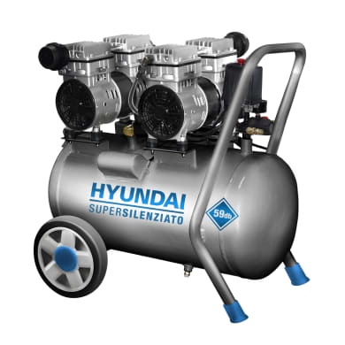 Compressore silenziato HYUNDAI 3 hp 8 bar 50 L