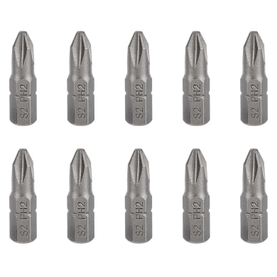 Inserto per cacciavite phillips DEXTER 10 pezzi
