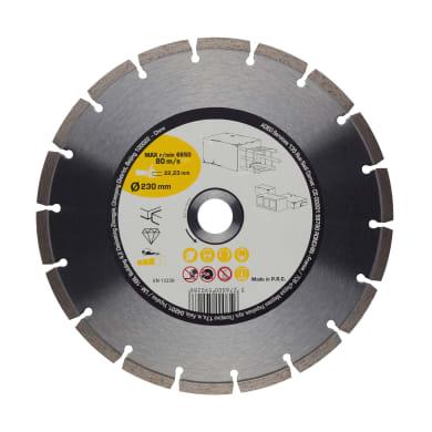 Disco diamantato segmentato Ø 230 mm