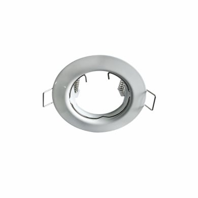 Ghiera per faretto da incasso tondo Bang in metallo, bianco, diam. 7.8 cm GU10 MAX0W IP23 1 pezzi