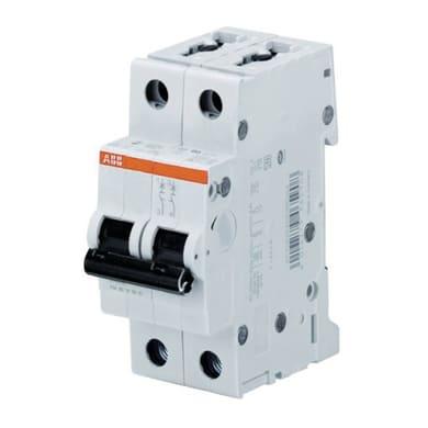 Interruttore magnetotermico ABB S201L NA C20 1P +N 20A 4.5kA 2 moduli 230V