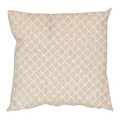 Fodera per cuscino Escama beige 60x60 cm