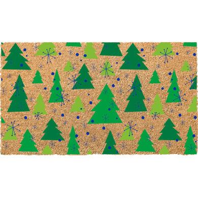 Zerbino Alberi Natale in cocco verde chiaro