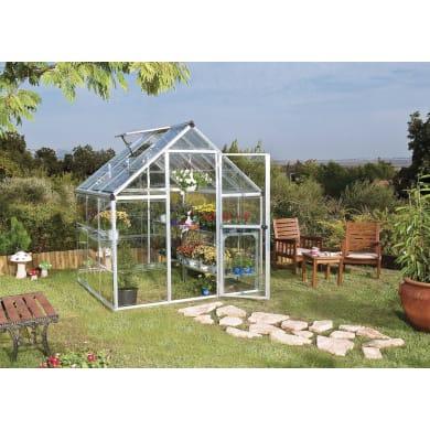 Serra da giardino VERDEMAX Doritis Medium L 184 x H 209 x P 185 cm