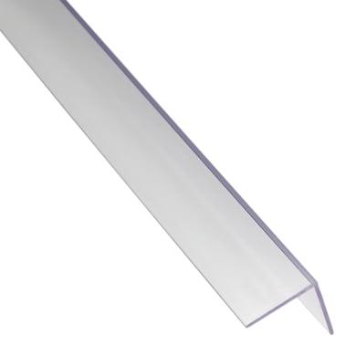 Profilo angolo STANDERS in pvc 1 m x 2.35 cm traparente