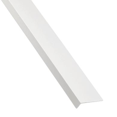 Profilo a l STANDERS in pvc 1 m x 4 cm bianco
