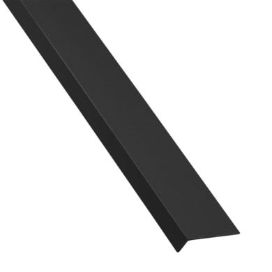 Profilo a l STANDERS in pvc 2.6 m x 4 cm nero