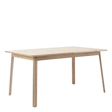 Tavolo da giardino allungabile rettangolare Solis NATERIAL con piano in legno L 150/200 x P 90 cm