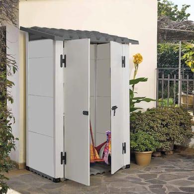 Casetta da giardino in pvc Urban 100 2P,  superficie interna 0.88 m² e spessore parete 20 mm