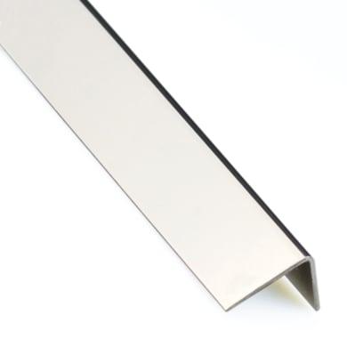 Profilo angolo STANDERS in inox a2 1 m x 3 cm nero
