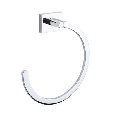 Porta salviette ad anello Smart cromo cromato L 16 cm
