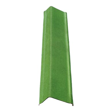 Scossalina ONDULINE in bitume L 12 x H 100 cm Ø 18.5 cm verde