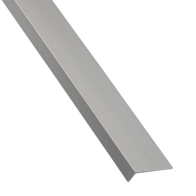 Profilo a l STANDERS in pvc 2.6 m x 3 cm grigio