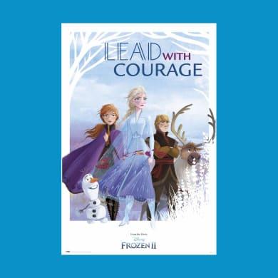 Poster Frozen II Courage 61x91.5 cm
