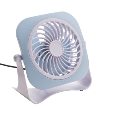 Mini ventilatore EQUATION bianco 3.0 W Ø 10.0 cm