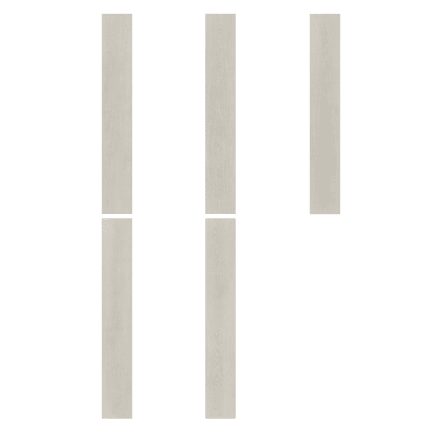 Pavimento pvc flottante clic+ Lunan Sp 5 mm bianco