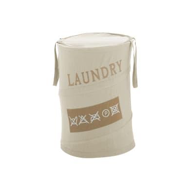 Portabiancheria Gedy Laundry ecru più di 60 L