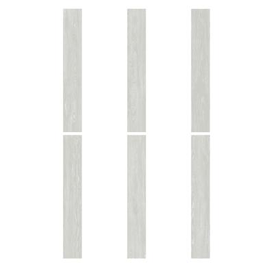 Plancia di vinile flottante clic+ Polar Sp 4 mm bianco