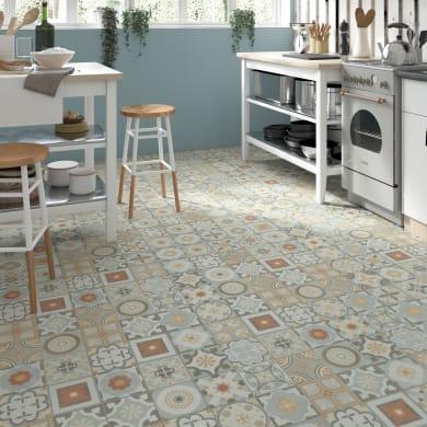 Pavimento PVC flottante clic+ Cement Sp 5 mm multicolore