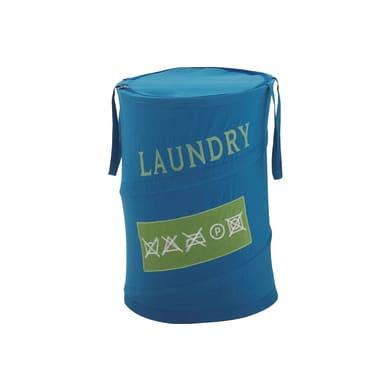 Portabiancheria Gedy Laundry azzurro più di 60 L