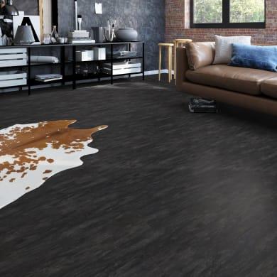 Pavimento pvc flottante clic+ Grampians Sp 4.2 mm nero