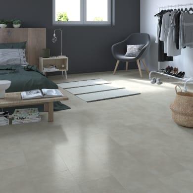 Pavimento pvc flottante clic+ Manassa Sp 4 mm grigio / argento