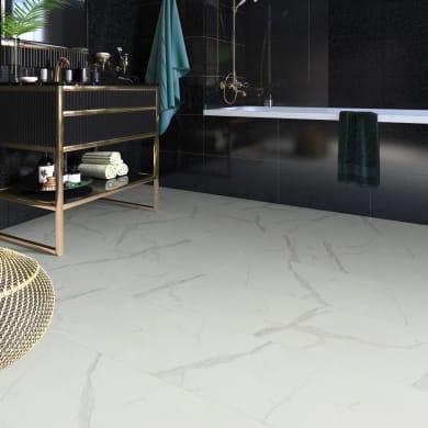 Pavimento pvc adesivo Marmy Sp 2 mm bianco