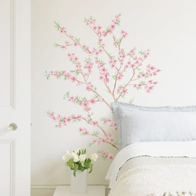 Sticker Peach branch 67x94 cm
