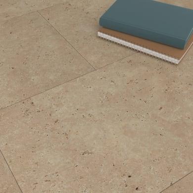 Lastra di vinile adesivo Travertino Sp 1.5 mm beige