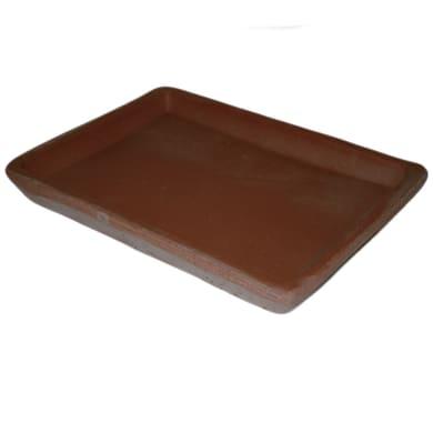 Sottovaso in terracotta colore impruneta Bonsa P 20 x L 20 cm