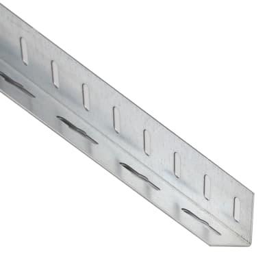 Profilo a l STANDERS in ferro 2.6 m x 4.35 cm grigio