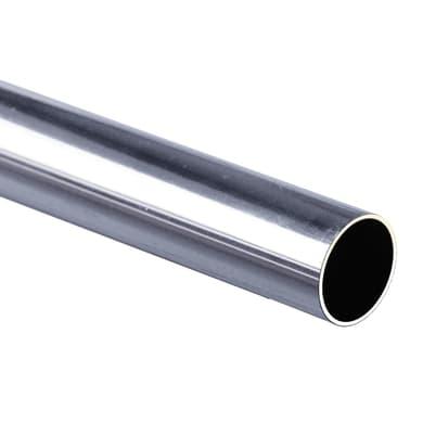 Tubo appendiabiti Prisma & Cubic L 2.5 x H 2.5 x P 2.5 cm grigio / argento