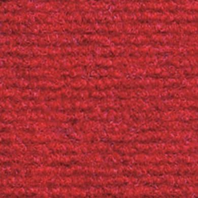 Rotolo di moquette Riva rosso L 2 m
