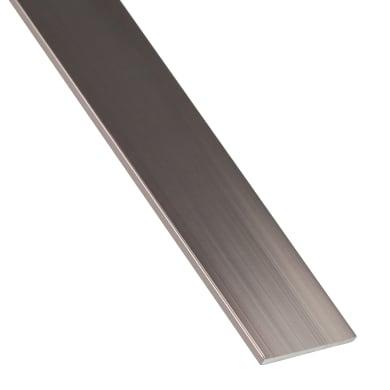 Profilo piatto STANDERS in alluminio 1 m x 2 cm rame