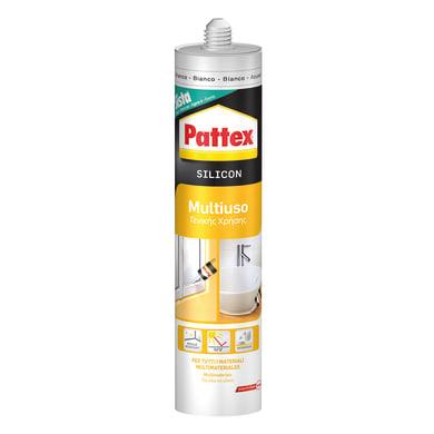 Silicone PATTEX Multiuso bianco 280 ml